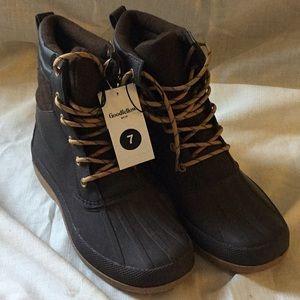 Good Fellow Men Rubber Boots- New